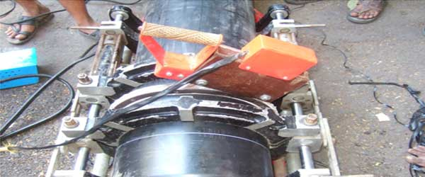JOINTING-OF-HDPE-PIPE-BY-BUTWELDING